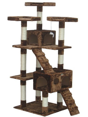 Go Pet Club Brown 72″ Cat Tree F2081