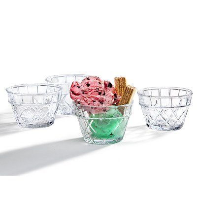 Cross Lines Bowl (Set of 4) (Sorbet Serving Bowls compare prices)