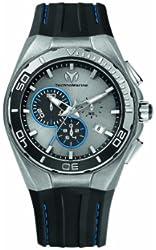 TechnoMarine Men's 112007 Cruise Steel Evolution Stonewashed Steel Case Watch