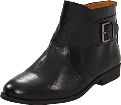 Nine West Women's Toughenup Bootie,Black Leather,6 M US