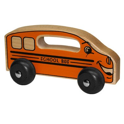 Holgate Toys HHZ102 Handeez Wood School Bus Toy