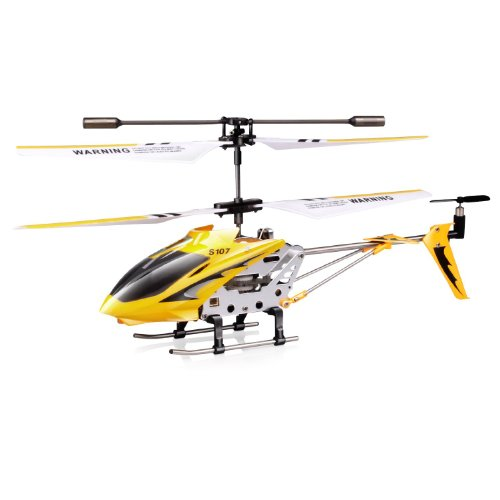 Syma S107 S107G 3 Channel RC Heli with Gyro - Yellow