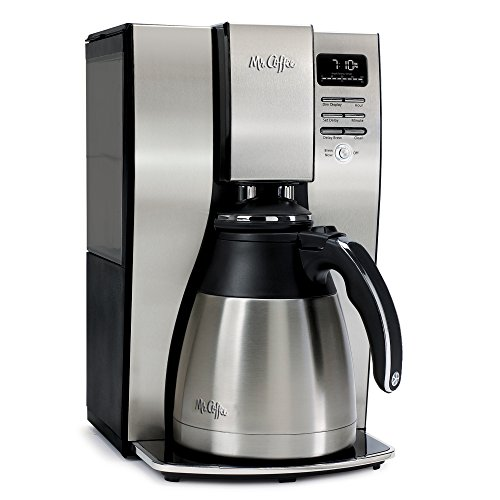 Mr. Coffee 10 Cup Optimal Brew Thermal Coffee Maker, Stainless Steel, PSTX95 (Stainless Mr Coffee compare prices)