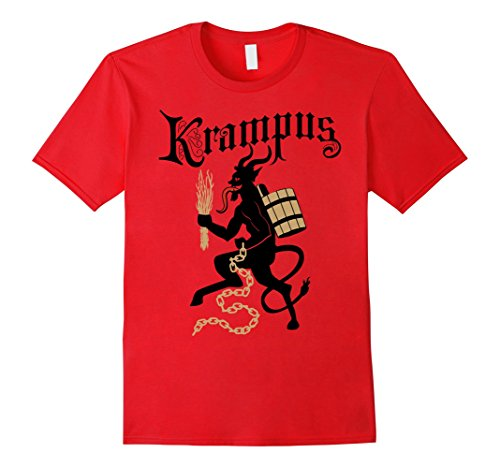 Holiday Krampus T-shirt - Male XL - Red