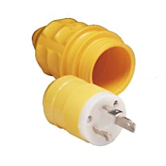 Buy Marinco 305CRPN.VPK Marine Electrical Plug and Boot Value Pack (30-Amp, 125-Volt, Male) by Marinco