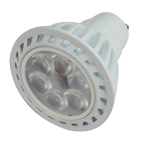 6 Pack Of Best Dimmable Led Gu10 6W Spot Recessed Track Spot Light Bulb Down Lamp 40W Equivalent 110V 60 Degree (Day White6000K)