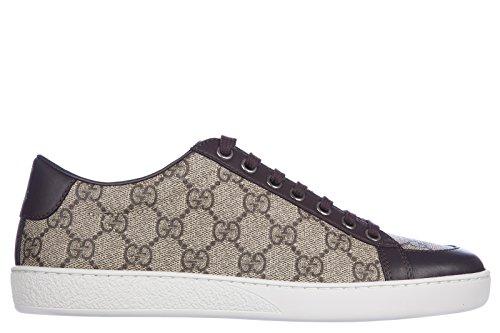 gucci-scarpe-sneakers-donna-nuove-originale-tessuto-gg-supreme-miro-soft-marrone-eu-38-323793-khn80-
