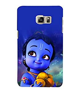 printtech Lord Krishna Cartoon Small Back Case Cover for Samsung Galaxy Note 5 Edge::Samsung Galaxy Note 5 Edge 2