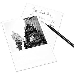 Postkartenset - Hamburg. 10 Architekturpostkarten in schöner Geschenkbox: Das ideale Gesc