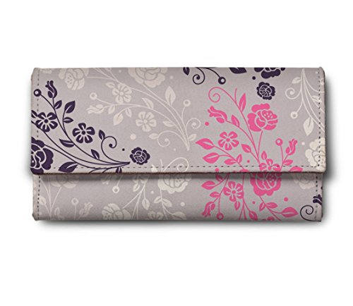 ShopMantra-silver-color-flower-Multicolor-Ladies-Wallet-LW00000231