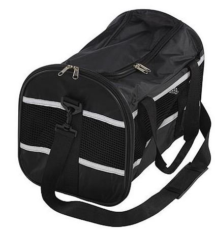 Airline Approved Pet Carriers Dog Travel Bag Cat Tote Soft-sided Canvas Crate Mesh Small 15 X 11 X 11 Black