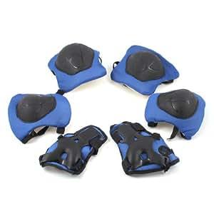 Amazon Com Skate Knee Elbow Wrist Support Plastic Pads