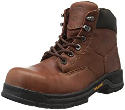 Wolverine Women's W04675 Harrison Safety Toe Work Boot, Brown, 5.5 M US