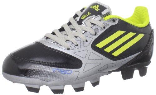adidas F5 TRX FG Soccer Cleat ,Black/Lab Lime/Metallic Silve