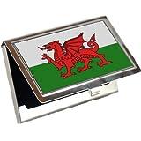 Wales Flag Business Card Holder