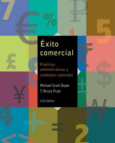 Exito Comercial: Practicas Administrativas y Contextos Culturales [With Access Code] = Commercial Success