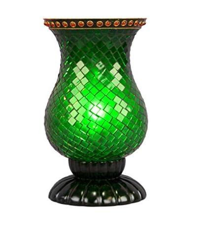 Legacy Lighting Green Emerald, Gloss Black