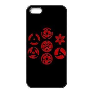 Yedda DIY Design Popular Japanese Anime Naruto the Sharingan Especial Durable Hard Plastic Case Cover Fits Apple Iphone 5/5s