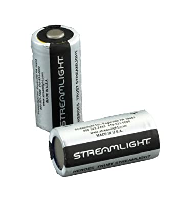 Streamlight Lithium Batteries CR123A