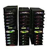Picture Of 1 to 30 CD/DVD SATA Daisy Chain Duplicator / Burners (22x/40x Burners, HDD) 500GB