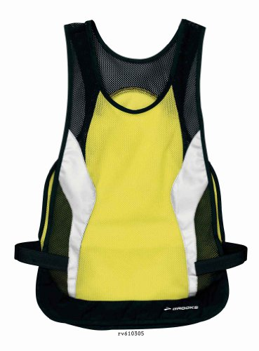 Brooks Brooks Nightlife Reflective Vest, Nightlife, Large/X-Large