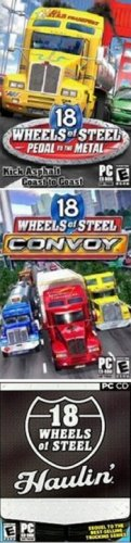 18 Wheels of Steel 3 Pack: Pedal to the Metal + Convoy + Haulin&#8217;