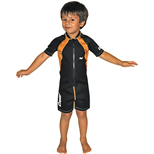 Cressi Baby Wetsuit (Black Orange, XL (age 6/8)) (Wet Suit Xl compare prices)