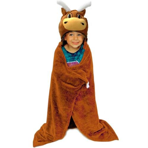 Texas Longhorns NCAA Huggable Hooded Mascot Blanket at Amazon.com