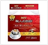 UCC 職人の珈琲 ドリップコーヒー あまい香りのモカブレンド 18P×12パック入