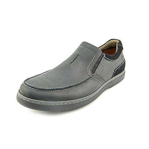 Clarks Salton Step Mens Black Leather Loafer 11.5-MEDIUM (Salton Step compare prices)