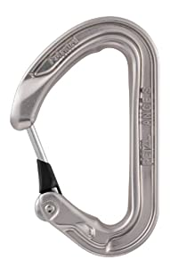 Petzl ANGE S carabiner - Grey