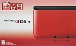 3DS XL-red/black (include 3DS XL+4G SDHC Memory Card) Red/Black from Nintendo