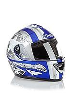 Römer Casco de Moto Star Integral (Azul / Plata)