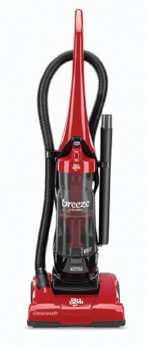 Dirt Devil Breeze Cyclonic Bagless Upright Vacuum, Red