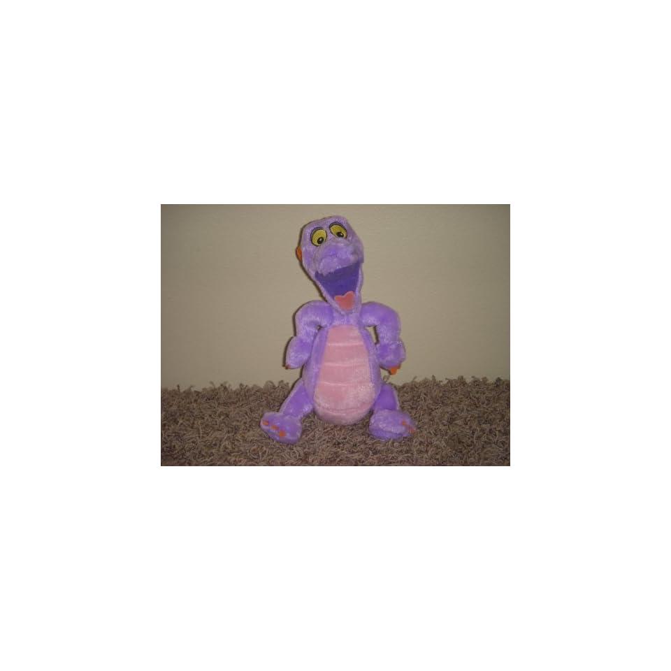 Mascot Figment Purple Dragon From Disney 9 Inch Plush Doll