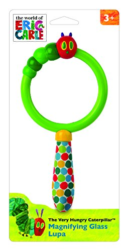 World of Eric Carle, The Very Hungry Caterpillar Magnifying Glass by Kids Preferred - 1