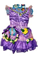 Dora the Explorer Enchanted Forest Adventures Dress Costume with Bonus Headband