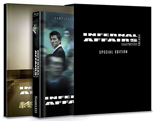 Infernal Affairs 1-3 - Trilogie - Mediabook (+ Fotobuch) [Blu-ray] [Limited Edition]