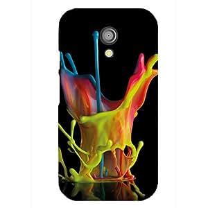 Zeerow Hard Case Mobile Cover for Moto G2