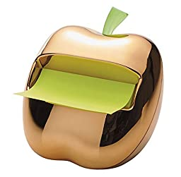 Post-It Gold Apple Pop-Up Note Dispenser for 3 x 3-Inch Notes, Includes 1 Can...