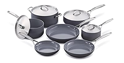 GreenPan Paris 11 Piece Anodized Non-Stick Ceramic Cookware