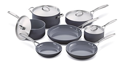 GreenPan Paris 11 Piece Ceramic Non-Stick Cookware Set