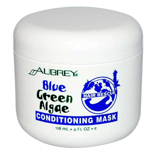 Aubrey Organics Blue Green Algae With Grape Seed Extract Soothing Mask, 4-Ounce Bottles (Pack Of 2)