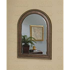 mirrors finished in decorative frames