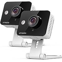 2 Pack Zmodo Mini Wireless Cameras with Two-Way Audio