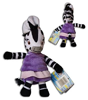 Zebra Elzee 8'' Zou & Friends Plush