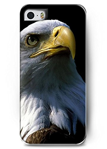 Ouo Stylish Series Case For Iphone 5 5S 5G With The Design Of Face Of A Fierced Eagle