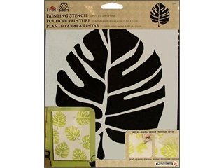 Folk Art 30603 Large Painting Stencils, Large Leaf front-993196