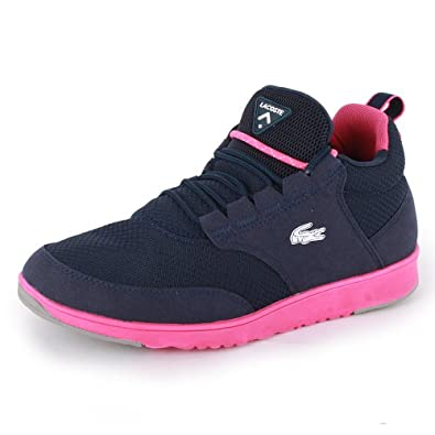 chaussures lacoste marcel junior blanche bleue vue avant car interior design. Black Bedroom Furniture Sets. Home Design Ideas
