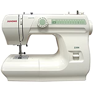 Janome 2206 Sewing Machine with Exclusive Bonus Bundle by Janome